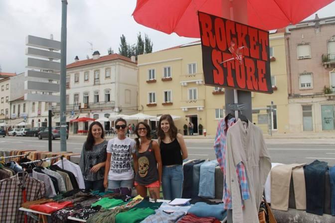 Rocket Store na feira sem regras