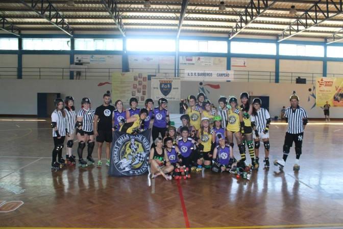 Rocket Dolls encerram temporada com vitória em Leiria